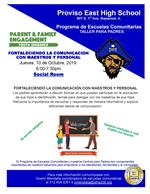 Workshop Flyer Spanish